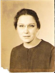 Rhoda Showalter young woman