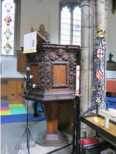 Pulpit St. Olav, London