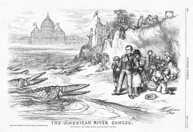 """Nast, """"The American River Ganges"""""""