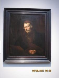 An Elderly St. Paul by Rembrandt, 1659, in the National Gallery