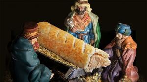 sausage roll jesus