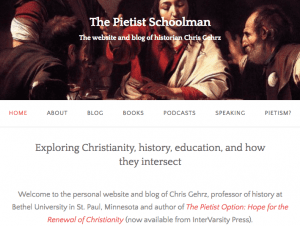 The Pietist Schoolman screenshot