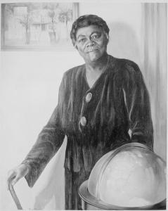 Moody alumna Mary McLeod Bethune--courtesy of the National Archives