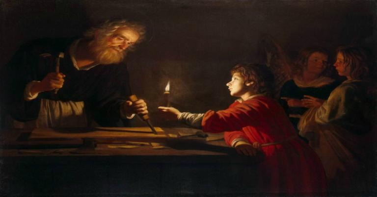 Van Honthorst, The Childhood of Christ