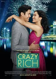 Poster for the film version of Crazy Rich Asians