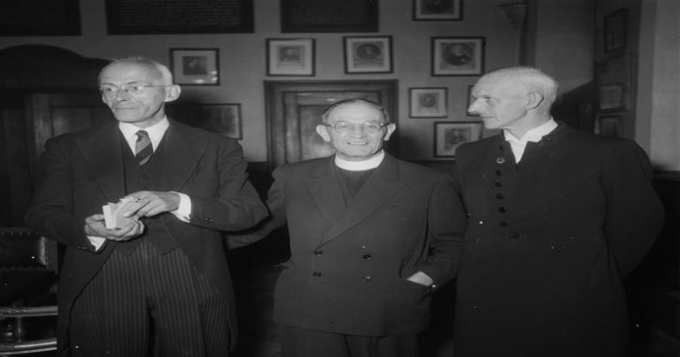 Martin Niemöller in 1952