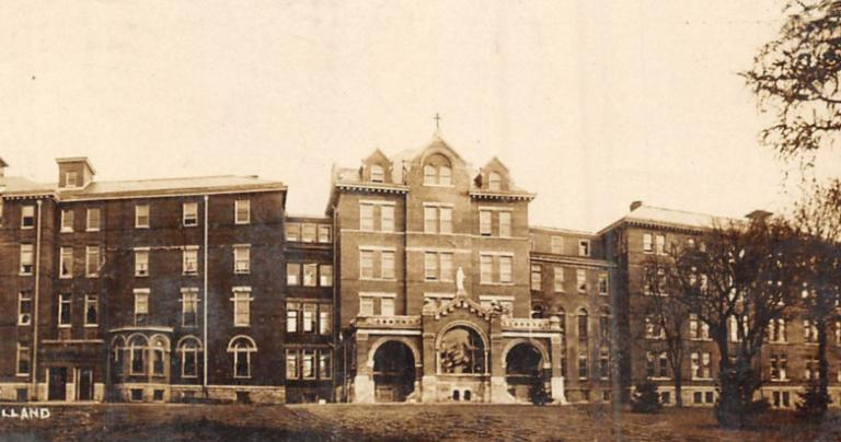 St. Mary's Hospital in 1910