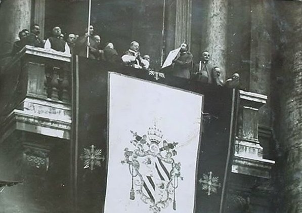 Pope Pius XI in February 1922
