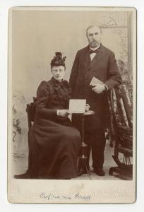 Josephine and John Gustaf Princell
