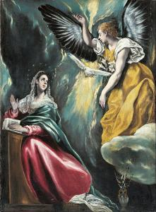 El Greco, The Annunciation