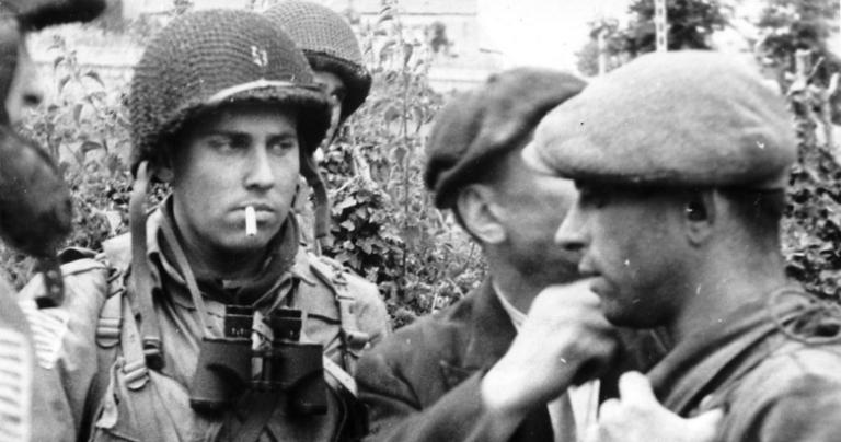 American and French during the Battle of Normandy
