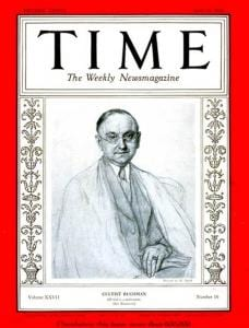 April 20, 1936 issue of Time with Frank Buchman on the cover