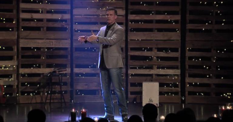 Wade Burleson preaching in 2016