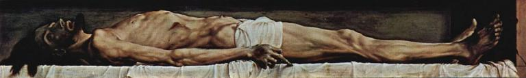 Holbein, Body of the Dead Christ in the Tomb