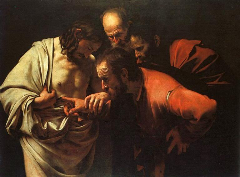 Caravaggio, Incredulity of Thomas