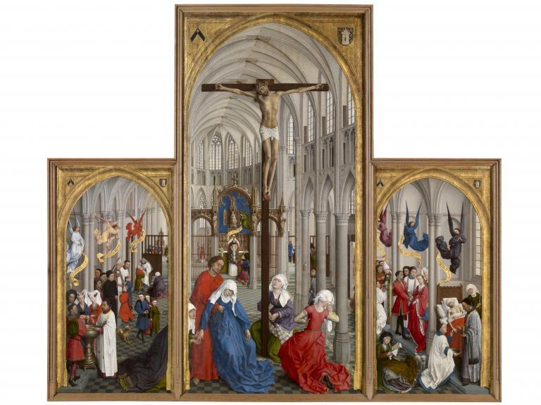 van der Weyden, Seven Sacraments Altarpiece