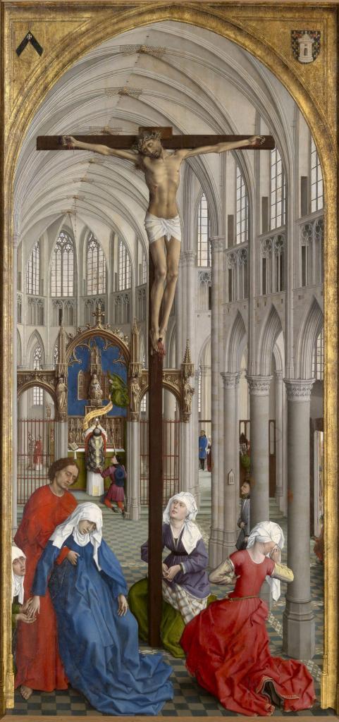 Central panel of van der Weyden's Seven Sacraments altarpiece
