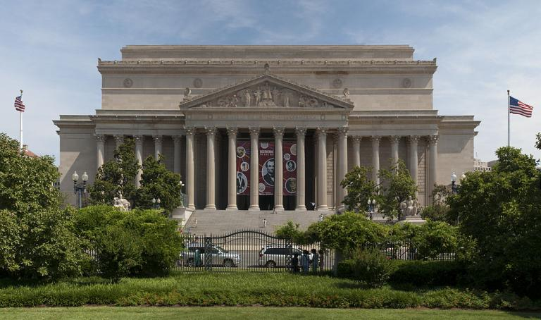 The National Archives in Washington, DC