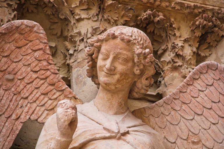 Smiling Angel, Notre-Dame de Reims