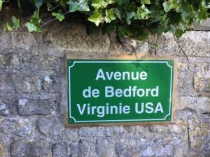 Avenue de Bedford Virginie USA, near Omaha Beach