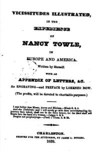 Cover page of Nancy Towle's memoir
