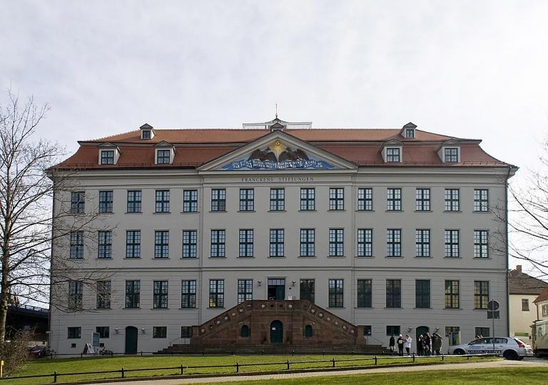 Francke's orphanage in Halle