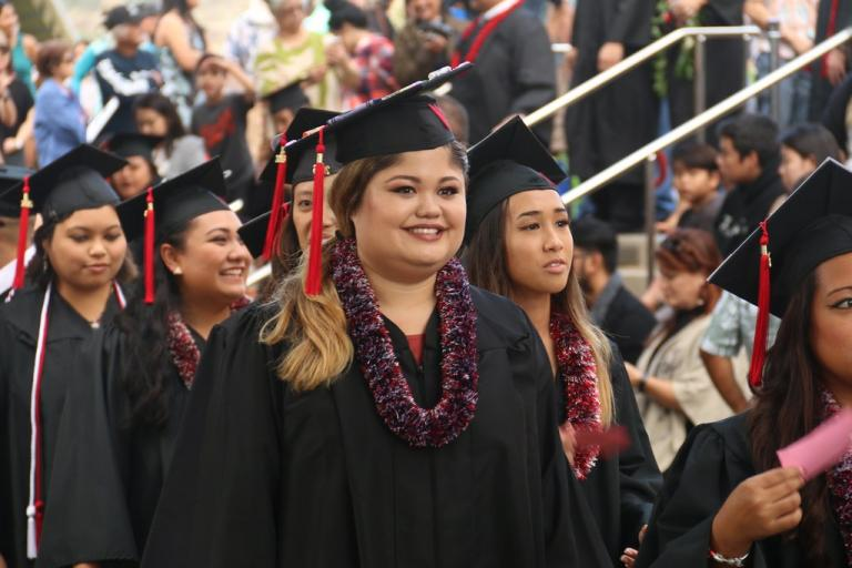 2016 commencement ceremony in Hawaii