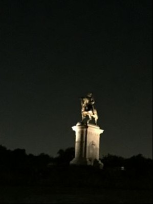 We need a Sam Houston, a new leader.