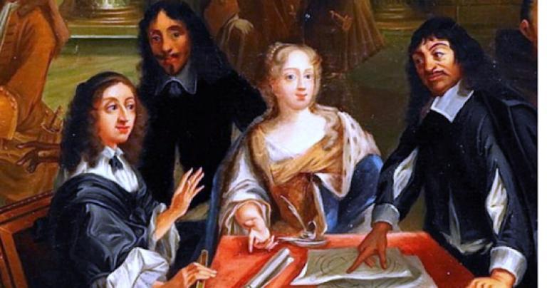Descartes does some mansplaining.