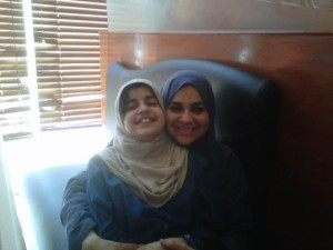 Mehreen and her Mamma