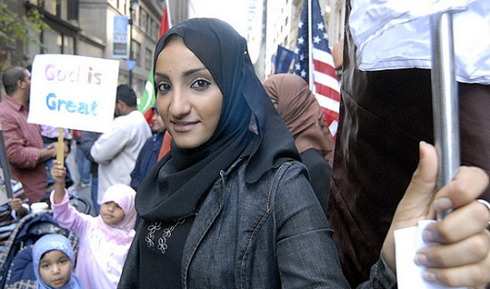 Photo from Flickr Creative Commons of a 2008 Muslim Pride Parade - photo user Stephanie Keith