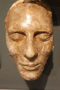 Joseph Smith's death mask.