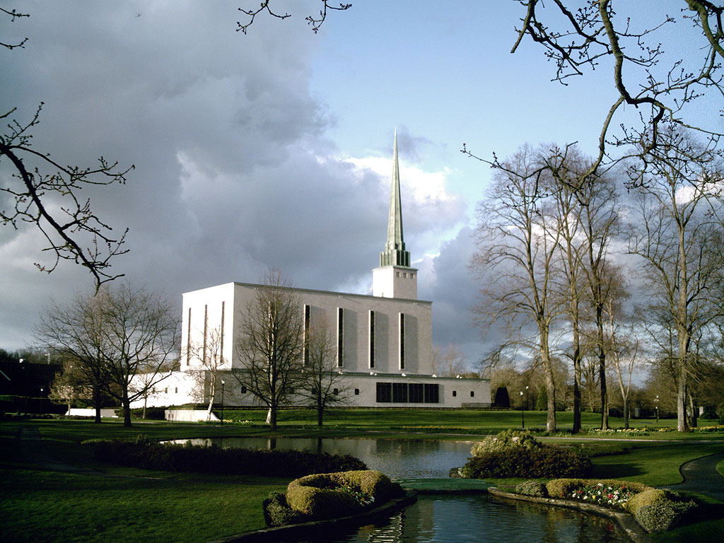 The UK's first temple