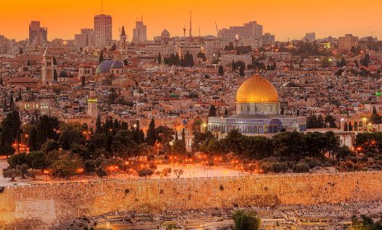 The golden city of Jerusalem