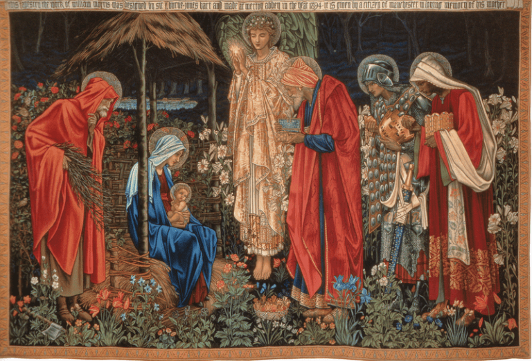 A late-nineteenth-century tapestry