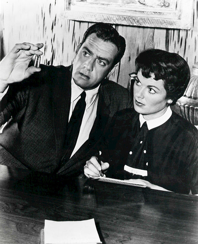 Perry Mason and his faithful secretary