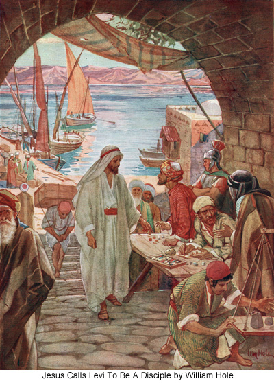 William Hole, the calling of Levi