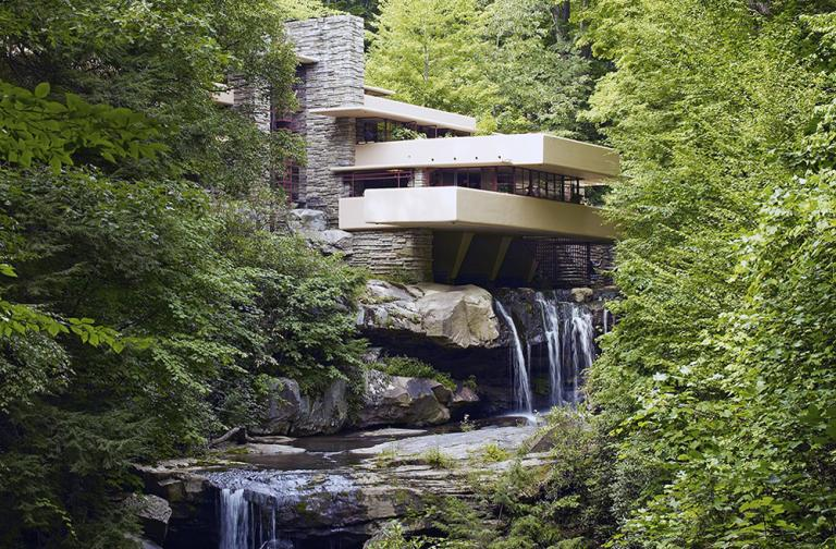 Fallingwater, by Wright