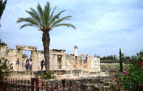 Capernaum's synagogue