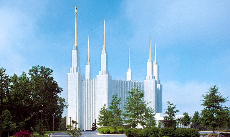 Temple in Maryland