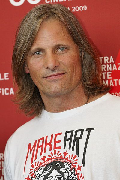 Viggo Mortensen, looking less Middle Earthish