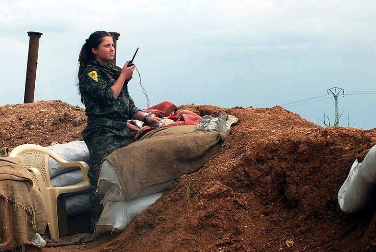 YPG soldier (female)