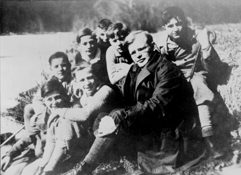Bonhoeffer, in happier times