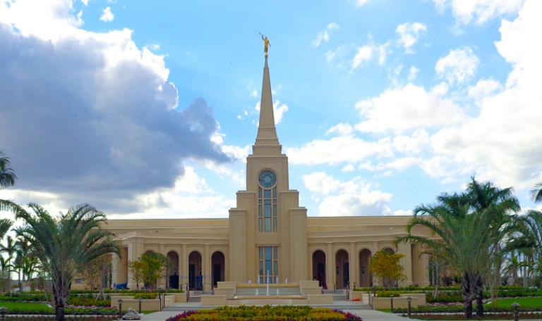 The second temple in Florida