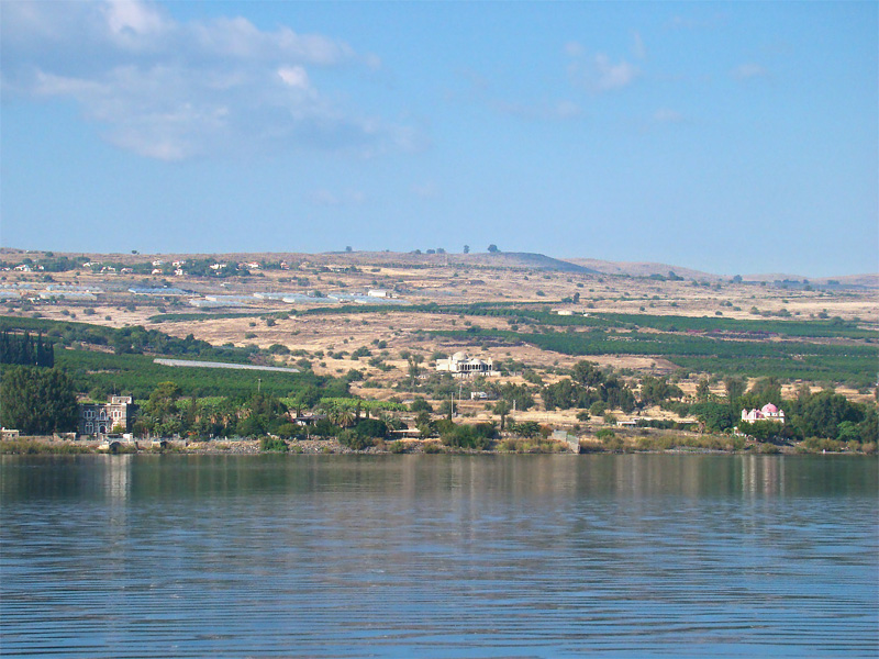 Capernaum from the lake