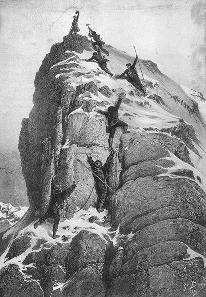 The first ascent of the Matterhorn