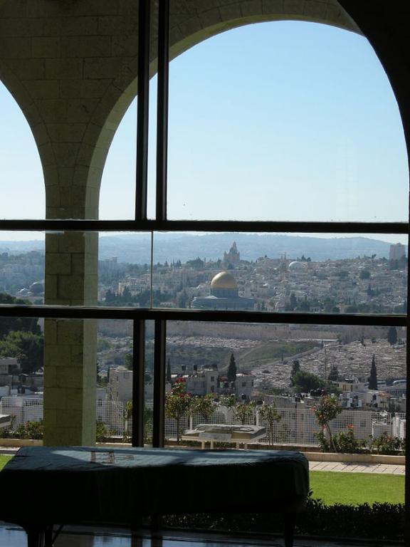 Next month in Jerusalem