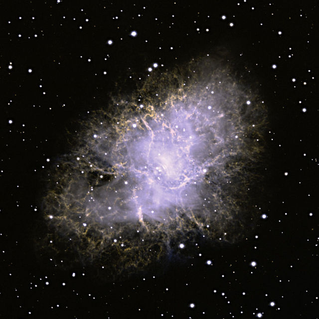 VATT image of Crab Nebula