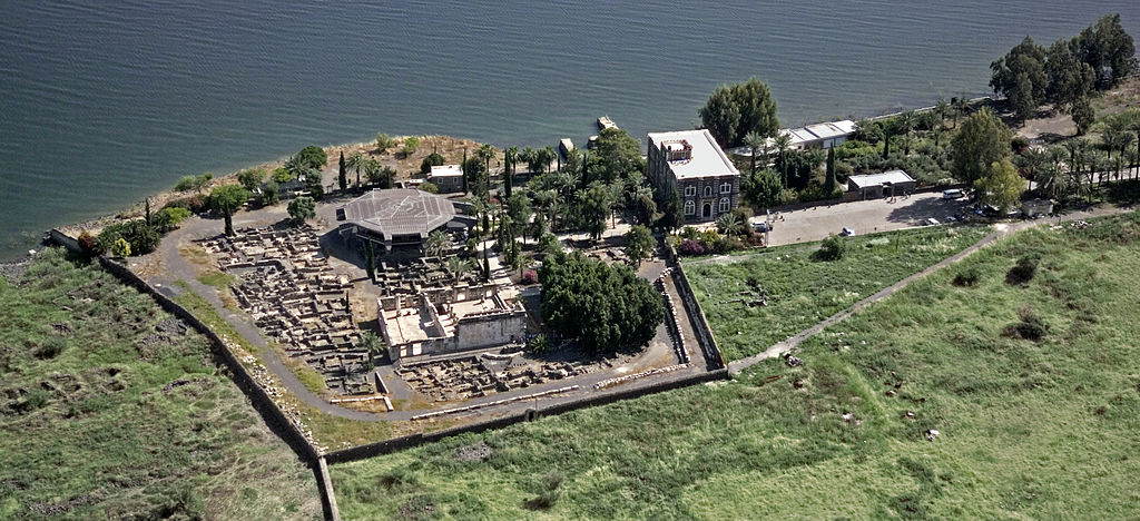 Aerial view of Capernaum