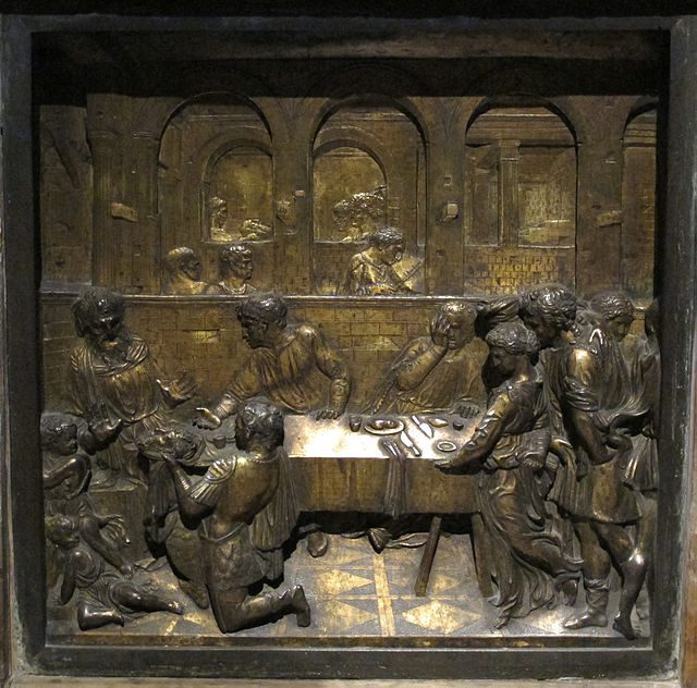 Donatello at the Siena Baptistry
